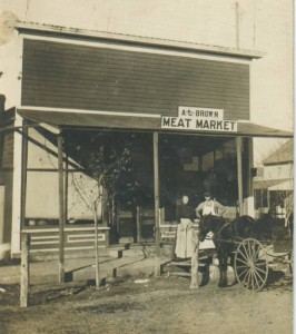 AJ Brown meat market