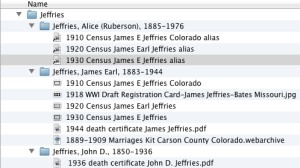 Going paperless with my genealogy files