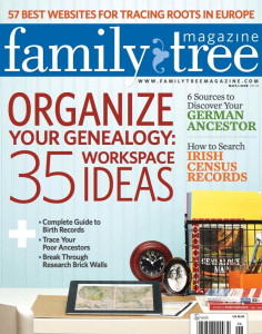 Organized genealogy spaces in Family Tree Magazine