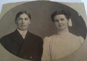 Arthur and Rhoda Brown, October 18, 1905