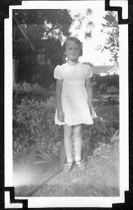 My mother as a young girl