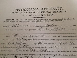 Civil War Pension Records are a treasure trove of information