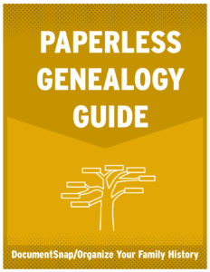 Paperless Genealogy Guide