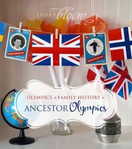 Ancestor Olympics!